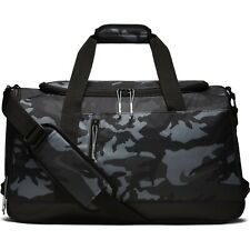 Nike Sports Printed Golf Duffle Bag Black Gray Camouflage BA5757-036 NWT