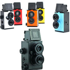 DIY Kit 135 camera model kit Twin lens reflex TLR Holga Lomo RECESKY