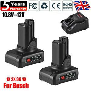 For Genuine BOSCH Battery 12V 10.8V 4.0Ah 1600Z0002Y 2607336333 BAT GSR GLI DDR