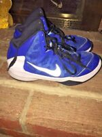 NIKE ZOOM WITHOUT A Doubt BASKETBALL ATHLETIC RUNNING HIGH TOP SHOES MENS SZ 9.5