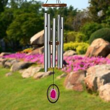 Woodstock Chimes Large Red Agate Wind Chime WAGRL