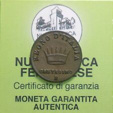 NF* Bologna - Napoleone I - 1 Centesimo 1808 ottima conservazione §317.1