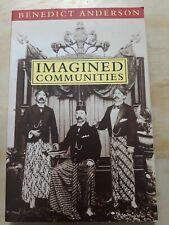 Imagined Communities. Benedict Anderson.