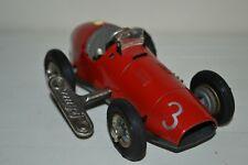 Vintage 1940s Schuco 1070 Racer Car US Zone Germany Key RARE #3 Works Wind-up !!
