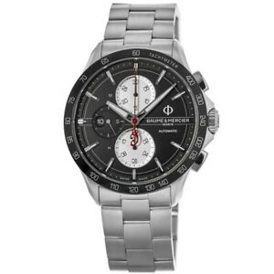 New Baume & Mercier Clifton Automatic Limited Edition Black Men's Watch 10403