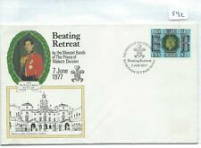 wbc. - GB - FIRST DAY COVER - FDC - 592 - SPECIALS - 1977 - BEATING RETREAT BFPO