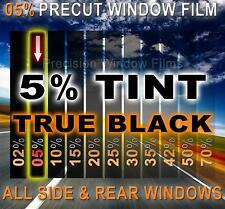 PreCut Window Film 5% Limo Tint for Nissan Titan King/Extended Cab 2004-2015