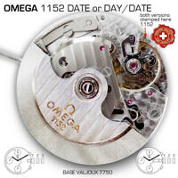 MOVEMENT OMEGA Cal 1152 (BASE ETA VALJOUX 7750)  DATE or DAY-DATE