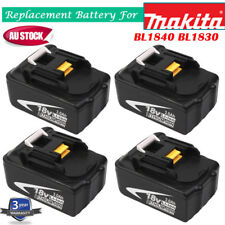4 X New 18V 3.0Ah Lithium Ion Battery LXT For Makita BL1830 BL1815 Pack 18 Volt