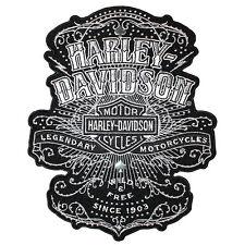 """Harley-davidson Toppa/stemma """"selvaggia """" Toppa molti Chiodi Em167904"""