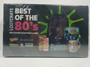 Best of 80's Loot Crate Box - Back to the Future Golden Girls TMNT Ghostbusters