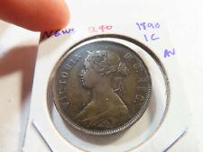 Q70 Canada Newfoundland 1890 Large Cent AU