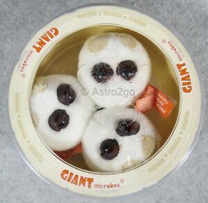 GIANT MICROBES-BEER & BREAD PETRI DISH-Stuffed Plush Yeast Fungus Baking Brewing