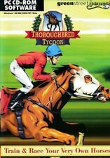 Thoroughbred Tycoon - Horse Racing Simulation - PC CD-ROM Game (Disc in Sleeve)