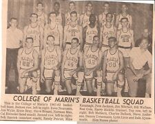 Lot of 3 Marin Independent Journal Photo Clippings - Drake High College of Marin