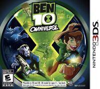 Ben 10: Omniverse Nintendo 3DS Kids Game Only 1 Rare !