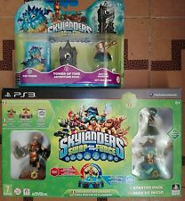 SIGILLATO SKYLANDERS SWAP FORCE starter pack PS3 + TOWER OF TIME espansione avv