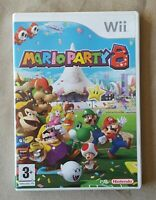 Nintendo Wii game - Mario Party 8 + instructions