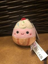 """Squishmallows-Clara-FoodMix Collection-3.5"""" Clip On-NWT"""