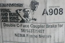 Marathon Electric A908 Double C-Face Coupler Brake For 56/143T/145T