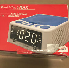 Hannlomax Hx-300Cd Top Loading Cd Player And Clock Radio With Usb