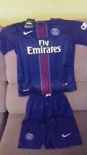 Paris Saint Germain 2016/17 kit, new with tags  size 24 child