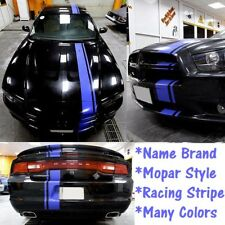 """FOR 15 to 22 Dodge CHARGER 5"""" + 1/2"""" Vinyl Racing Stripe Graphics Vinyl 20 FEET"""