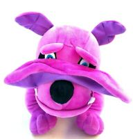 British English Bulldog Puppy Purple Soft Plush Stuffed Animal Dog Toy