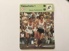 1978 Finnish SportsCaster Steve Prefontaine - FINLAND