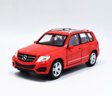 Welly 1:36 Mercedes Benz GLK Metal Diecast Model Car New in Box White or Red