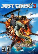 Just Cause 3 Digital (PC, 2015) Steam Digital Download Key No Disc Region Free