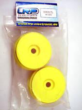 LRP 132014 Cercles 1:8 Plat Wheels (Jaune) modélisme