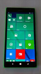 "Nokia Lumia 1520 Green 16GB 20MP *Windows 10* GSM Unlocked Smartphone 6.0"""