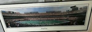 New York Giants 38 Yard Line New York Meadowlands Panoramic Stadium Print-FRAMED