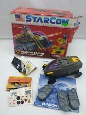 Vintage 1986 Coleco Starcom Shadow Raider w/ Box near COMPLETE
