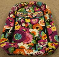 Vera Bradley Laptop Backpack in Va Va Bloom - Book Bag - School,College - Floral
