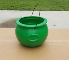 "General Foam Blow Mold ""NEW"" 8in Green Cauldrons (Box of 12)"