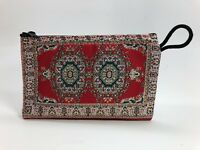 TRADITIONAL TURKISH WALLETS FABRIC WOVEN VARIOUS PATTERN COIN MAKEUP ZIP BAG NEW