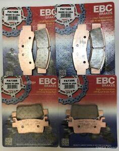 EBC Sintered FRONT & REAR Brake Pads For KAWASAKI KRX1000 TERYX (2020 to 2021)