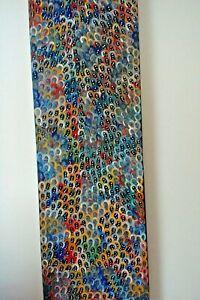 Anna Price Petyarre Authentic Aboriginal Art Bush Yum Dreaming 120 x 40 stretch
