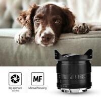 7Artisans 12mm f2.8 Manual Focusing Wide Angle Lens for Fuji Mirrorless Cameras