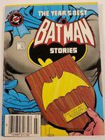 1985 Best Of DC Comics The Year's Best Batman Stories No.62 July 85