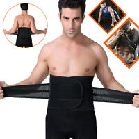 Adjustable Lumbar Waist Support Brace Belt Double Pull Pain Relief For Men Women