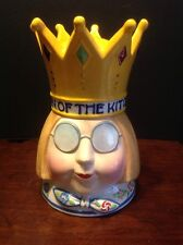 Mary Engelbreit Queen of the Kitchen Cookie Jar Enesco