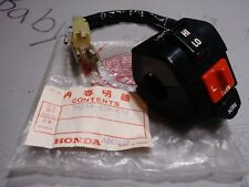 1984 HONDA AERO 125 NH125 NOS OEM LEFT HANDLE BAR TURN SIGNAL SWITCH