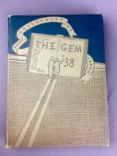1938 University of Idaho The Gem of the Mountains Yearbook