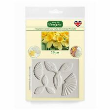 Katy Sue Fondant Cake Icing Craft Embellishment Mould - Floral Daffodils