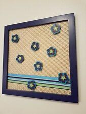 Blue Tropical Hanging Magnetic Memo Board