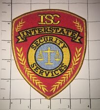 ISC Interstate Security Services Patch