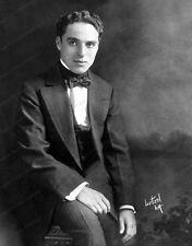 8x10 Print Charlie Chaplin by Witzel #4576